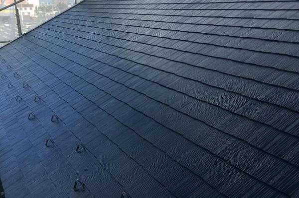 屋根 上塗り 施工後