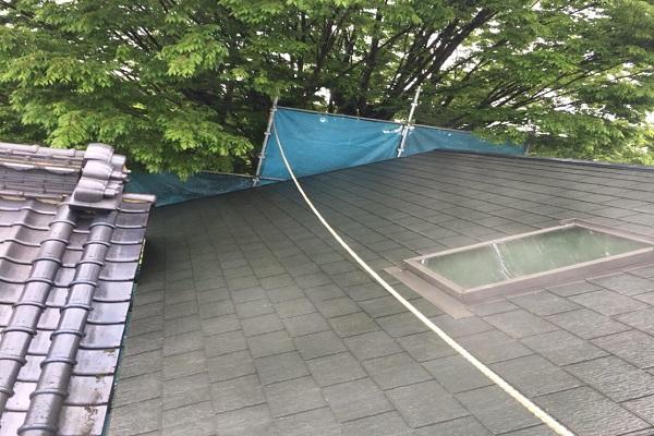 屋根 高圧洗浄 施工後