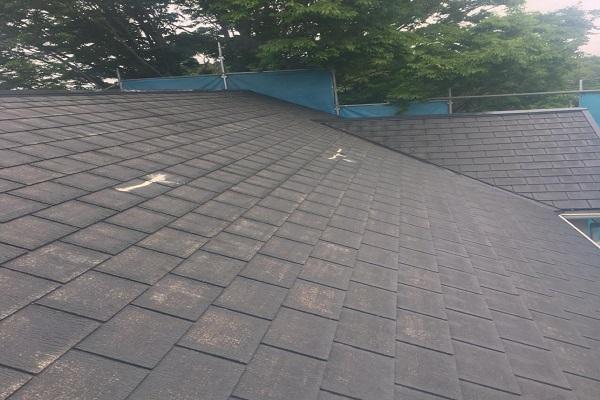 屋根 下塗り 施工後