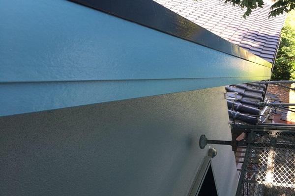 破風板 2回目塗装 施工後