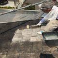 石岡市A様邸、屋根の高圧洗浄など