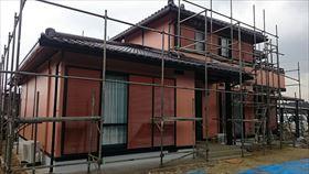 鉄製雨戸を塗装された行方市のお客様